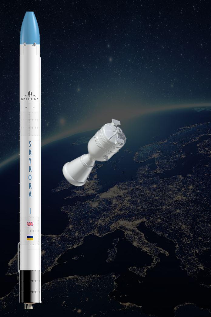 Skyrora-1 suborbital launch vehicle. Collage: www.skyrora.com