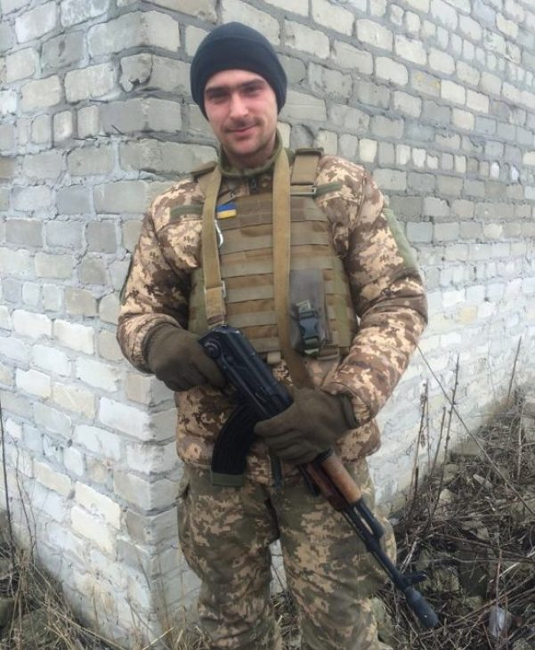Olekdandr, Donbas-Ukraine Battalion. Photo: Anastasiya Fedchenko