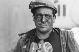 """""""Coal-painted portrait"""""""