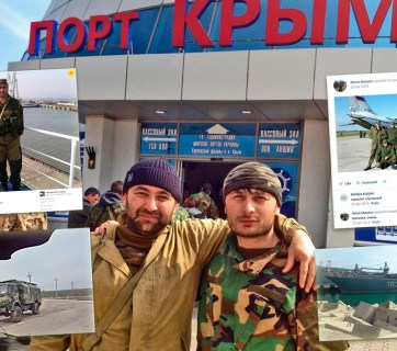 Russian 2014 invasion in Crimea