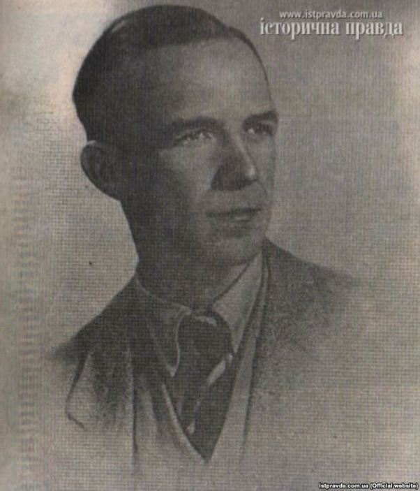 Yevhen Stakhiv (1918-2014) – resistant fighter of the Ukrainian underground movement in the Donbas during WW2, OUN member from 1934. Photo taken in the 1940s