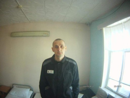 Russian Ombudswoman Tatyana Moskalkova sent this photo, claiming that it was made on the 88th day of Oleg Sentsov's hunger strike. Photo: https://www.facebook.com/denisovaombudsman