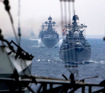 Russian Navy ships (Photo: mil.ru)
