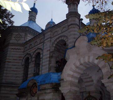The Bessarabian Orthodox Church of Saint Theodora de la Sihla in Chişinău, Moldova built in 1895 by architect Al Bernardazzi (Photo: Wikimedia Commons)