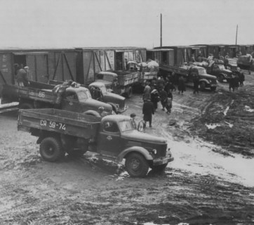 Deportation of hundreds of thousands of Ukrainians to Siberia and Kazakhstan in October 1947 code-named Operation West