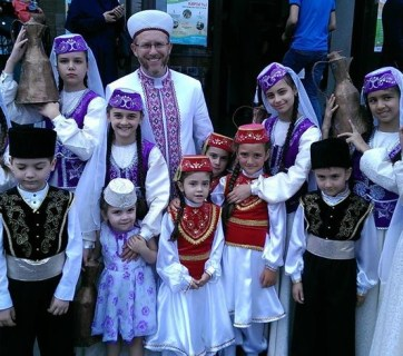 Sheikh Said Ismagilov, the mufti of the Muslim Spiritual Directorate of Ukraine (Photo: Facebook)