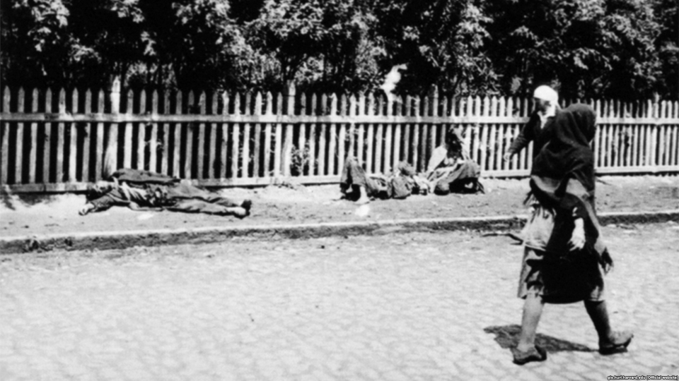 Holodomor victims on Kharkiv streets