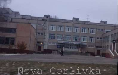 One of polling stations in Horlivka at 16:00, no voters outside. Source: Twitter/NovaGorlivka