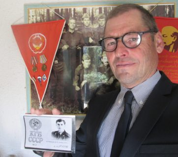Sergey Zhirnov, a former Soviet KGB illegal who defected and now lives in France (Photo: zimamagazine.com)