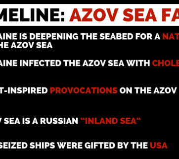 Russia's Long-Term Disinformation Plan For The Azov Sea