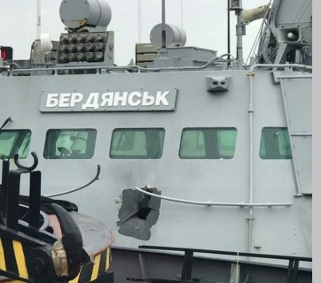 Six wounded Ukrainian sailors, damaged and seized vessels, and imprisoned crew members are some of the results of the Russian aircraft and ship attack on two small Ukrainian armored cutters and a tug boat who intended to go through the Kerch Straight from the Black Sea into the Sea of Azov on November 25, 2018.