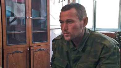 Arseniy Ilmitov, 26 or 27 August 2014, Ilovaisk. Screenshot: espreso.tv