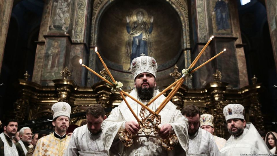 Metropolitan Epiphany, the head of the Orthodox Church of Ukraine (Photo: Serhii Nuzhnenko/RadioSvoboda.org/RFE/RL)