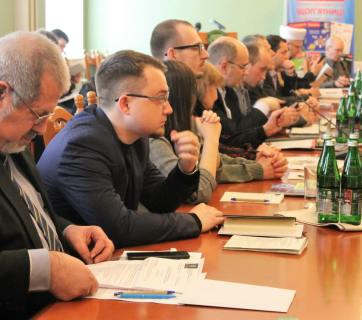 "Conference on ""The Peoples of the Russian Federation: Between Assimilation and Self-Determination"" held on April 15, 2019 at the Ukrainian Diplomatic Academy (Photo: Free Idel-Ural FB page)"