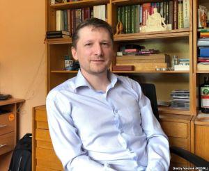 Aleksandr Busarov (Photo: Dmitry Volchek, RFE/RL)