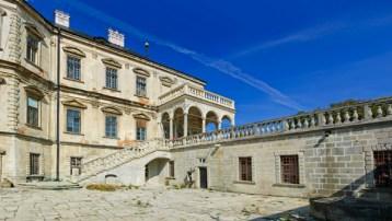 Courtyard of Pidhirtsi Castle. Photo: Sasha24/Wikimedia Commons