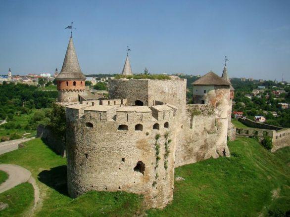 Kamianets-Podilskyi Castle. ua-travel.info