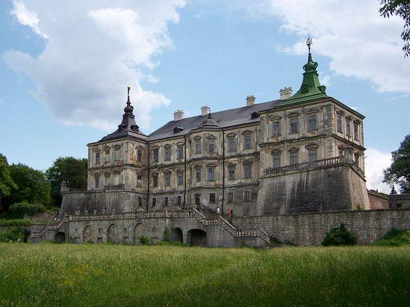 Pidhirtsi Castle. Photo: Lestat (Jan Mehlich)/Wikimedia Commons