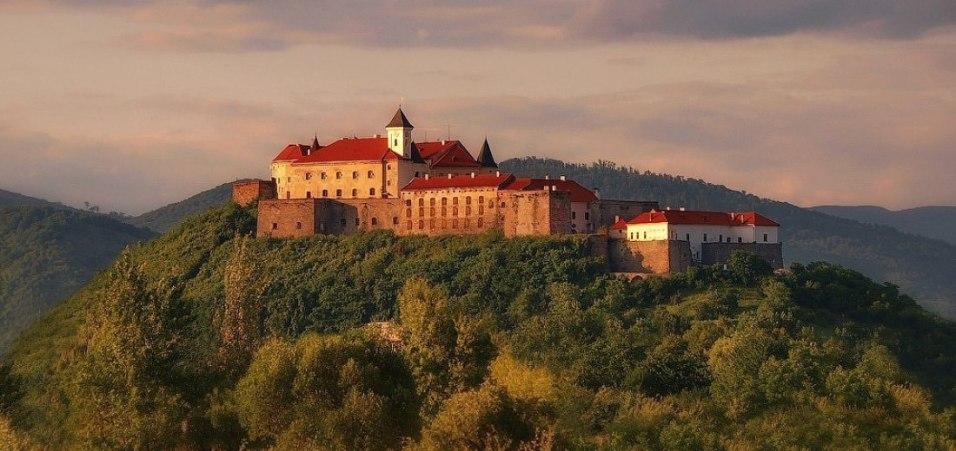 Palanok Castle in Mukachevo. Photo: myukraine.org.ua