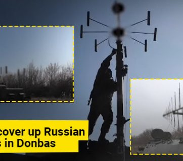 Propagandists invent cover-up for Russian army electronic equipment in Donbas