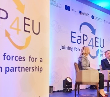 Participation of Olivér Várhelyi, European Commissioner, at the Annual Assembly of the Eastern Partnership Civil Society Forum (EaP CSF)Olivér Varhelyi at the Eastern Partnership Civil Society Forum
