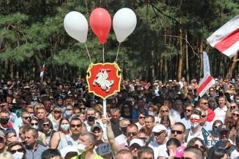 A rally in Brest. Photo: belsat.eu