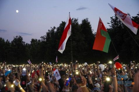 A rally in Minsk. Photo: Tanya Kapitonova, belsat.eu