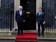 UK PM Johnson and Ukraine's President Zelenskyy on October 7 (Source: President.gov.ua)