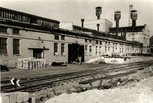 Insolation Materials Plant was built in Donetsk (then Stalino) back in 1955. Source.