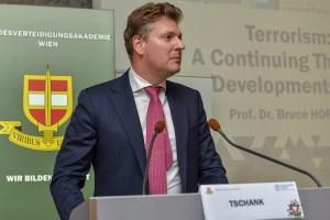 Markus Tschank, president of the Institute for Security Policy (ISP). Photo: institutfuersicherheit.at