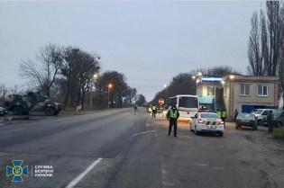 The Security Service of Ukraine during the anti-terrorist drills in Ukraine's northeastern region of Kharkiv. Photo: SBU