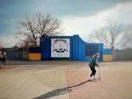 Lysychansk central square. Photo: Olena Makarenko