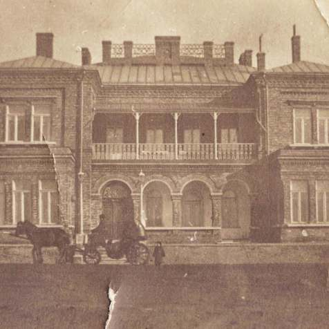 Mansion of the Hughes in Yuzovka, 1900.