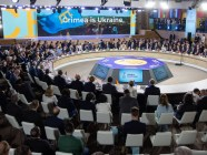 Working session of the inaugural summit of the Crimea Platform on August 23, 2021 in Kyiv, Ukraine (Photo- President.gov.ua)