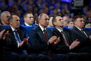 Vladimir Putin and Russia's top security officials. Photo: kremlin.ru