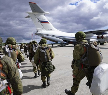 Russian airborne forces participate in Zapad 2021 exercise in Kaliningrad (Source: Joint Forces)