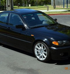 fs 2003 330i zhp sedan 6 speed with rare rear folding seats black black 165k mi 8750 so california [ 1280 x 848 Pixel ]