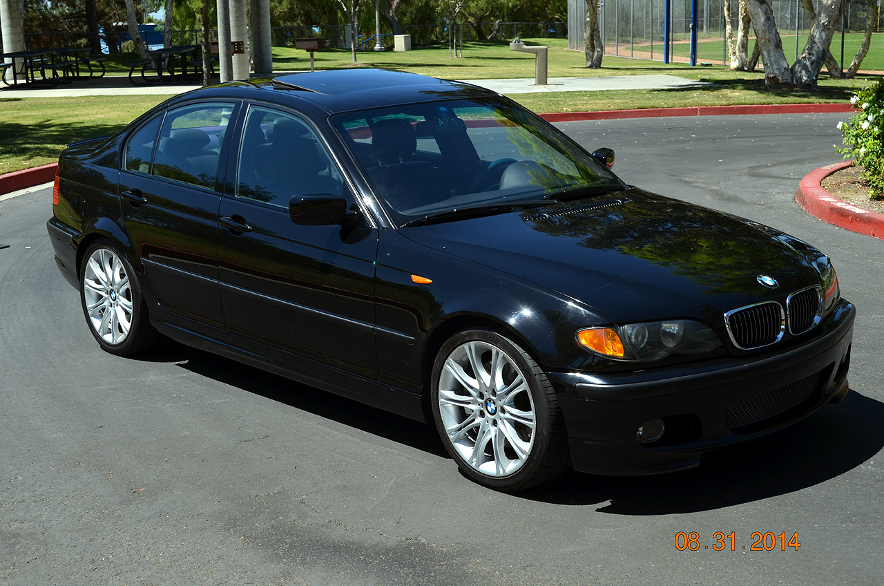 hight resolution of  fs 2003 330i zhp sedan 6 speed with rare rear folding seats black black 165k mi 8750 so california