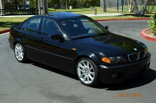 small resolution of  fs 2003 330i zhp sedan 6 speed with rare rear folding seats black black 165k mi 8750 so california