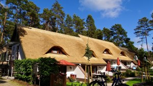 Reetdachhaus in Karlshagen, Ostsee Insel Usedom
