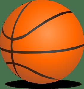 Bild vom Basketball