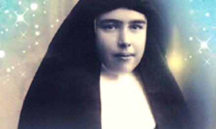 Hermana Teresa Mira: Toda amor de Dios y por Él a todos los que le rodean