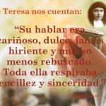 Así era Teresa Mira