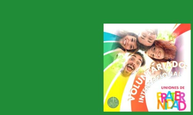 """LANZAMOS EL VOLUNTARIADO INTERNACIONAL CMT """"UNIONES DE FRATERNIDAD"""""""