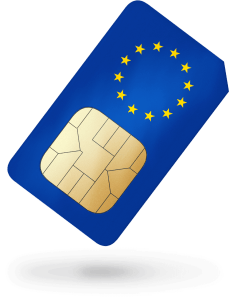 Triple format European prepaid data SIM – 2000MB of data