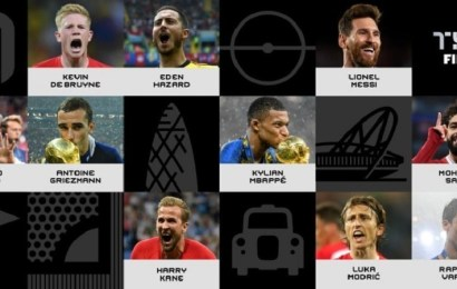 La FIFA anuncia los 10 nominados al premio The Best