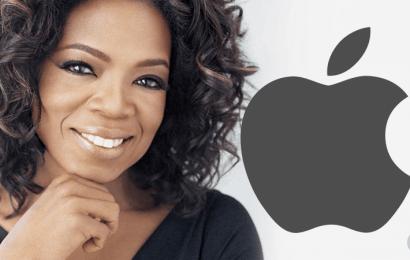 Oprah Winfrey producirá programas y series para Apple
