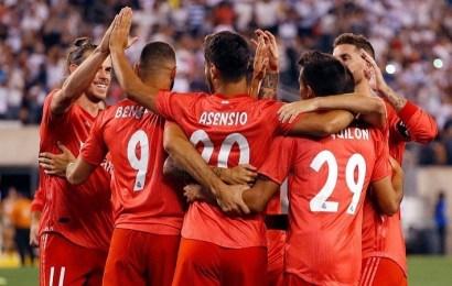Los de Lopetegui cierran su gira americana con goles de Asensio y Bale en su victoria ante la Roma