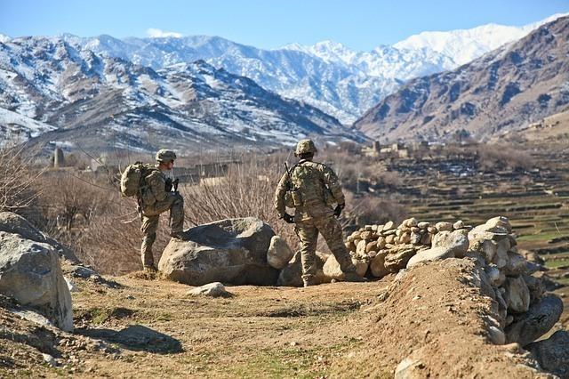 Soldados norteamericanos en Afganistan