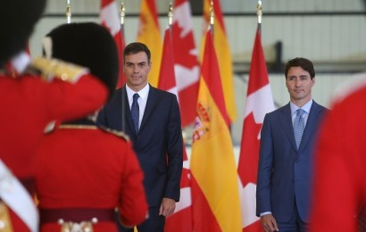 Pedro Sánchez visita Canadá en viaje oficial y pone a Quebec como ejemplo para la crisis Catalana